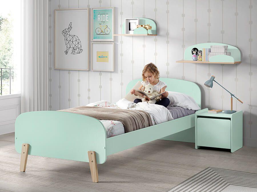 KIBE9093-Vipack-Kiddy-bed-mintgroen1