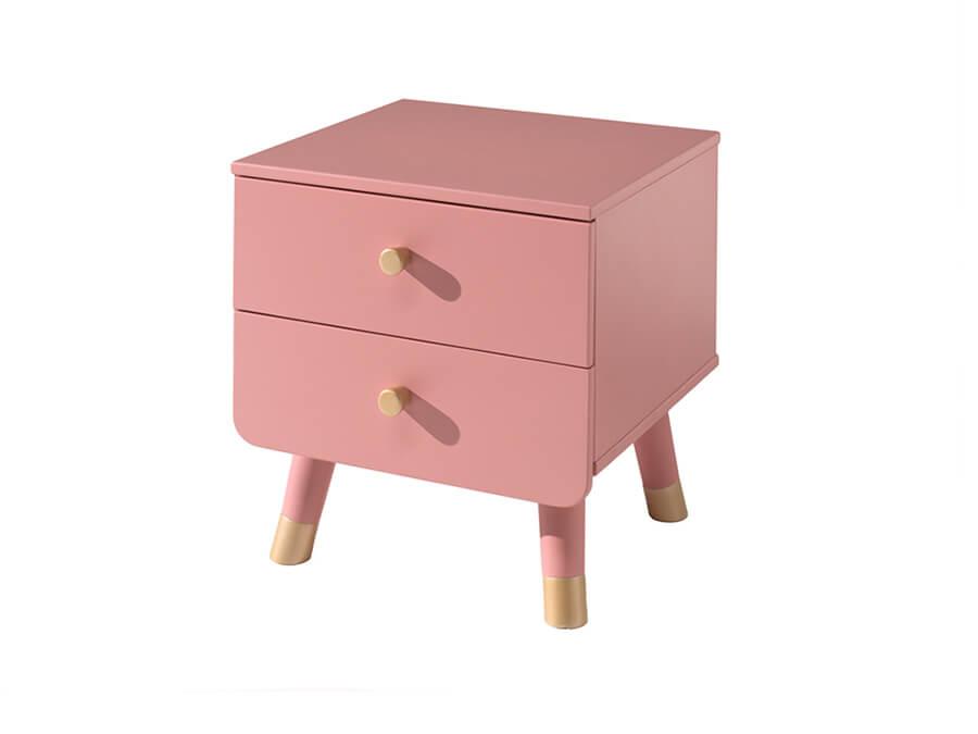 BINA2213 vipack billy nachtkastje roze