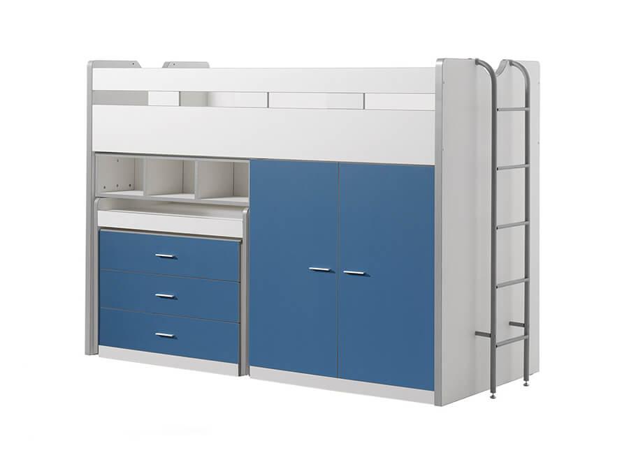 BONHS7007 Vipack Bonny Hoogslaper bureau blauw