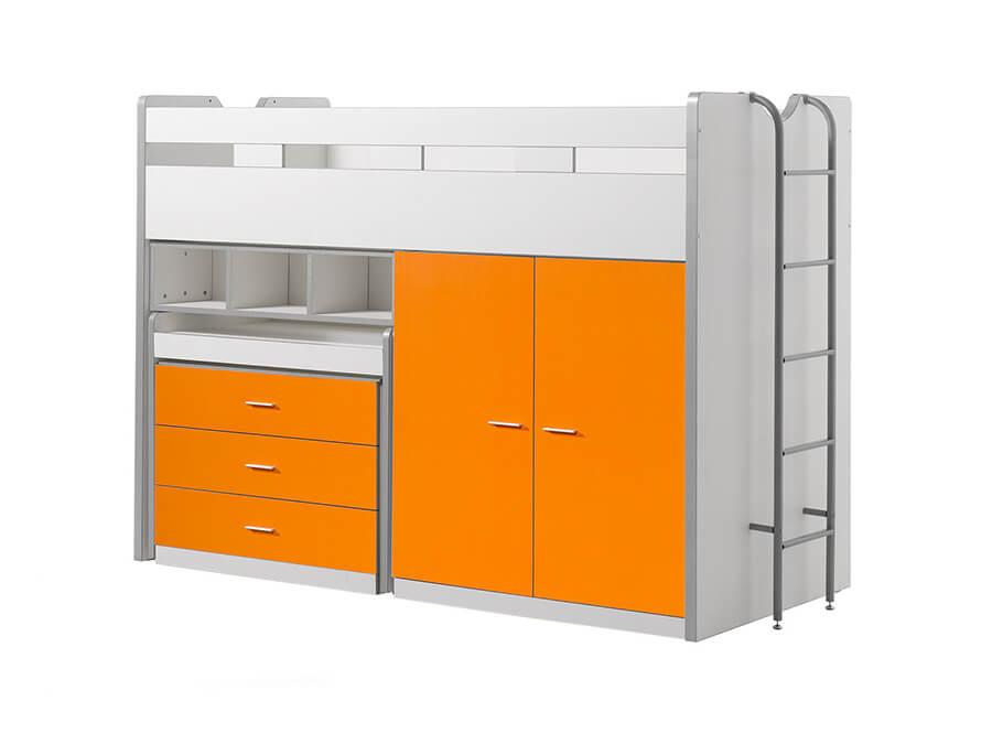 BONHS7011 Vipack Bonny Hoogslaper bureau oranje