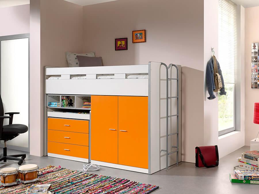 BONHS7011 Vipack Bonny Hoogslaper bureau oranje2