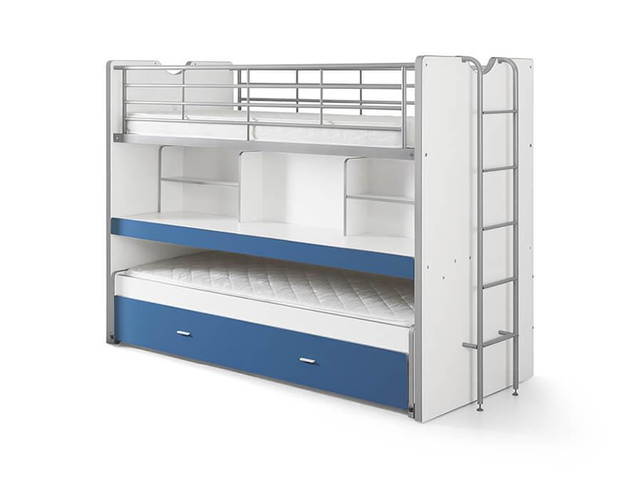 BONHS8007 Vipack Bonny 80 Stapelbed bureau blauw