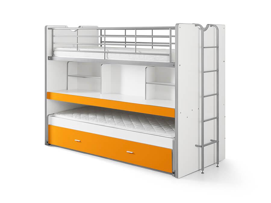 BONHS8011 Vipack Bonny 80 Stapelbed bureau oranje