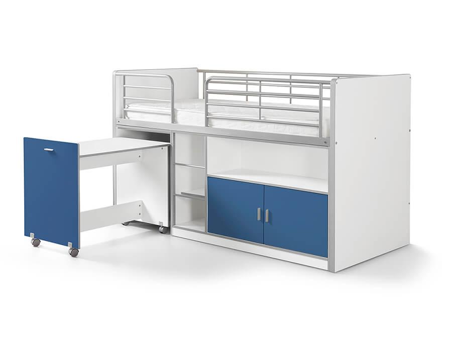 BONHS9107 Vipack Bonny 91 Halfhoogslaper bureau blauw
