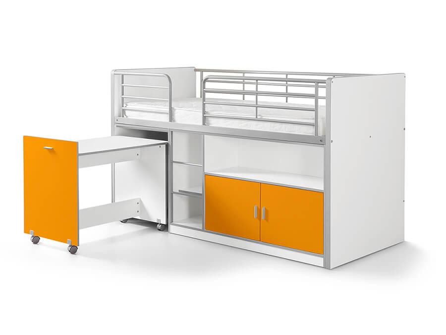 BONHS9111 Vipack Bonny 91 Halfhoogslaper bureau oranje