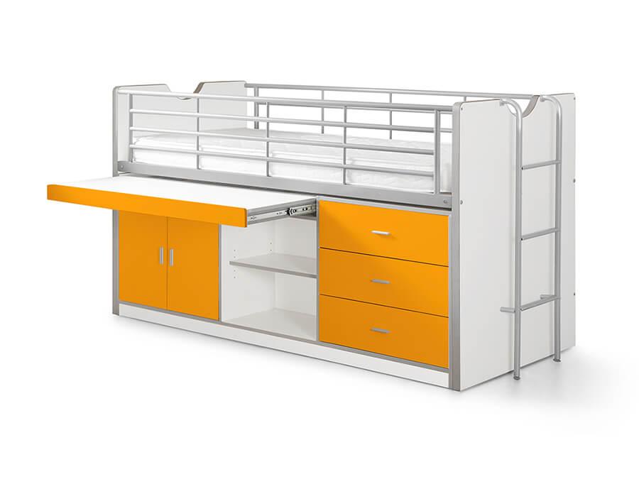 BONHS9511 Vipack Bonny 95 Halfhoogslaper bureau oranje