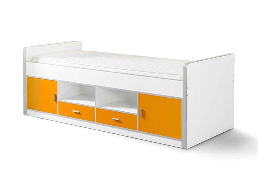 BONKB9011 Vipack Bonny 90 kajuitbed oranje