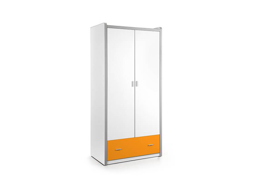 BONKL2211 Vipack Bonny 2deurs kledingkast oranje