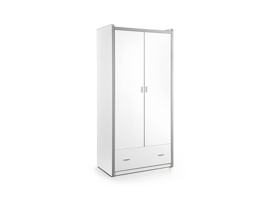 BONKL2214 Vipack Bonny 2deurs kledingkast wit