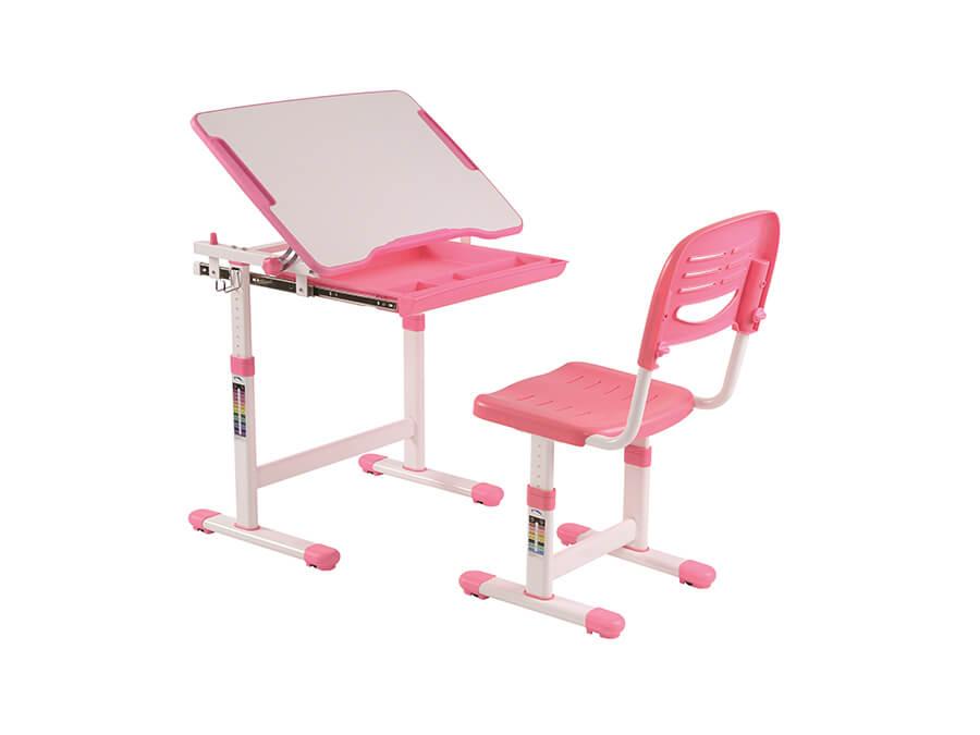 CLBU20113 Vipack Comfortline Bureau roze omhoog