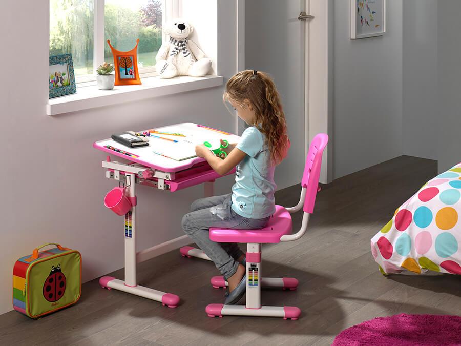 CLBU20113 Vipack Comfortline Bureau roze1
