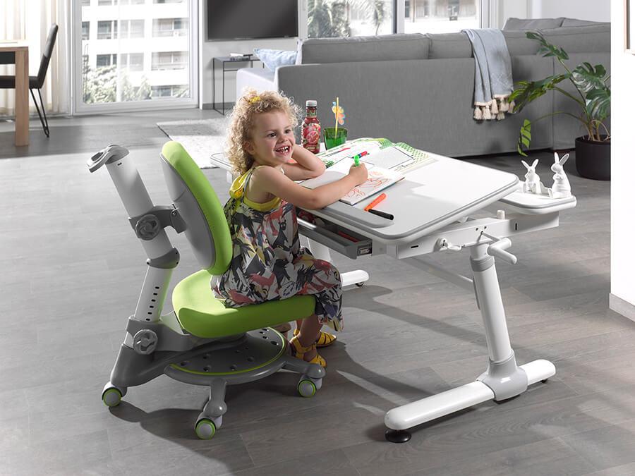 CLBU50215 Vipack Comfortline bureau 501 groene stoel