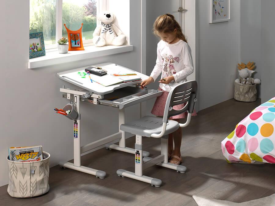 CLBY20115 Vipack Comfortline Bureau grijs1