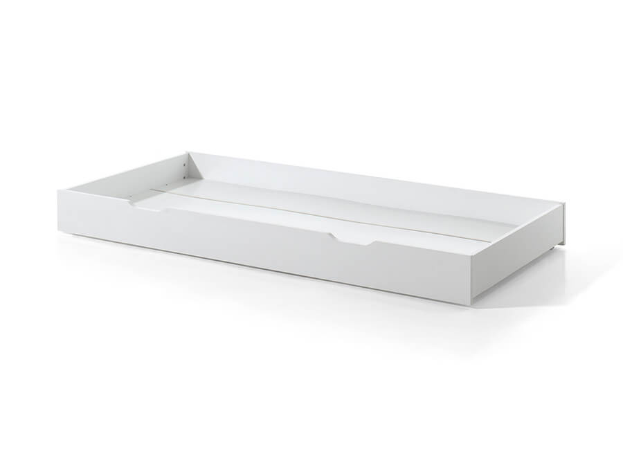 DARB9014 Vipack Dallas onderschuifbed wit