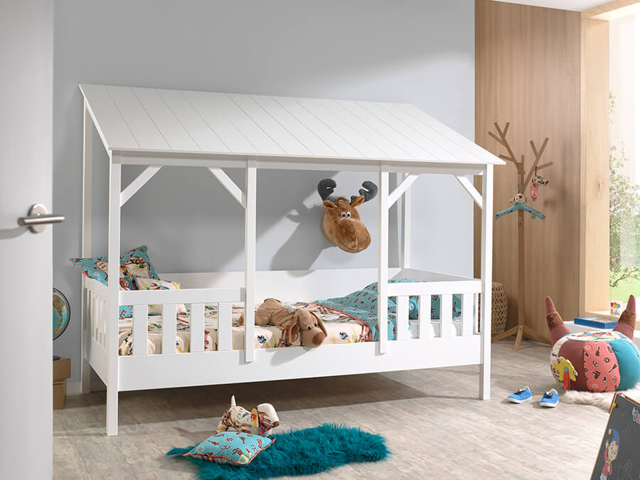 HB900314 Vipack Housebeds 03 wit dak 1