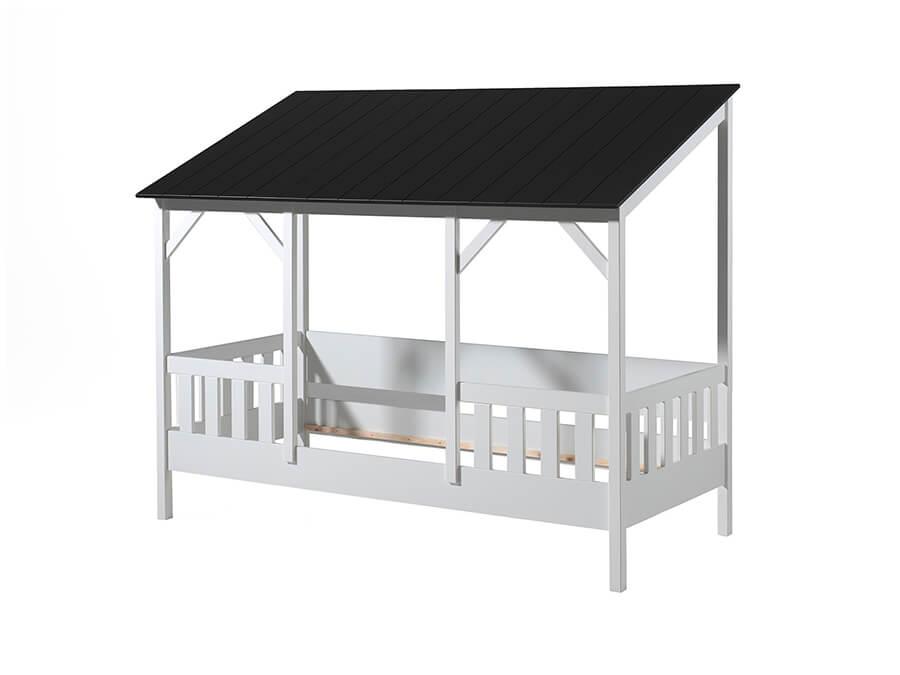 HB900318 Vipack Housebeds 03 zwart dak