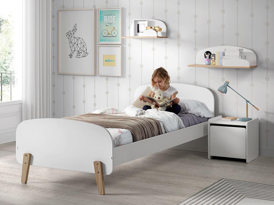 KIBE9014 Vipack Kiddy bed wit1
