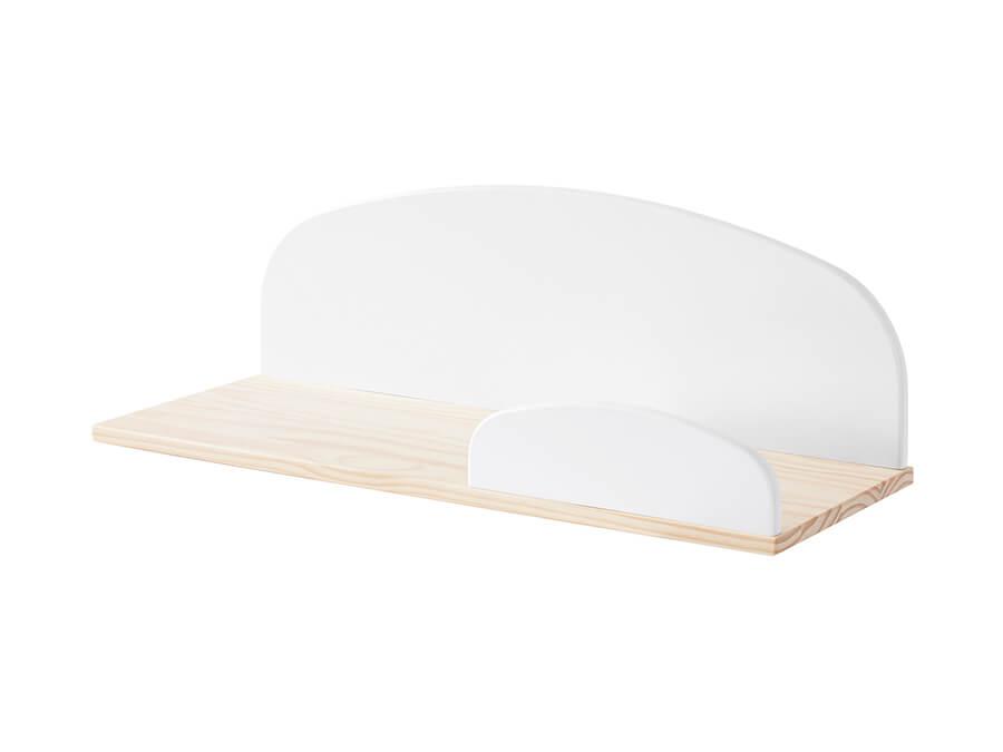 KIHP6514 Vipack Kiddy hangplank 65cm wit