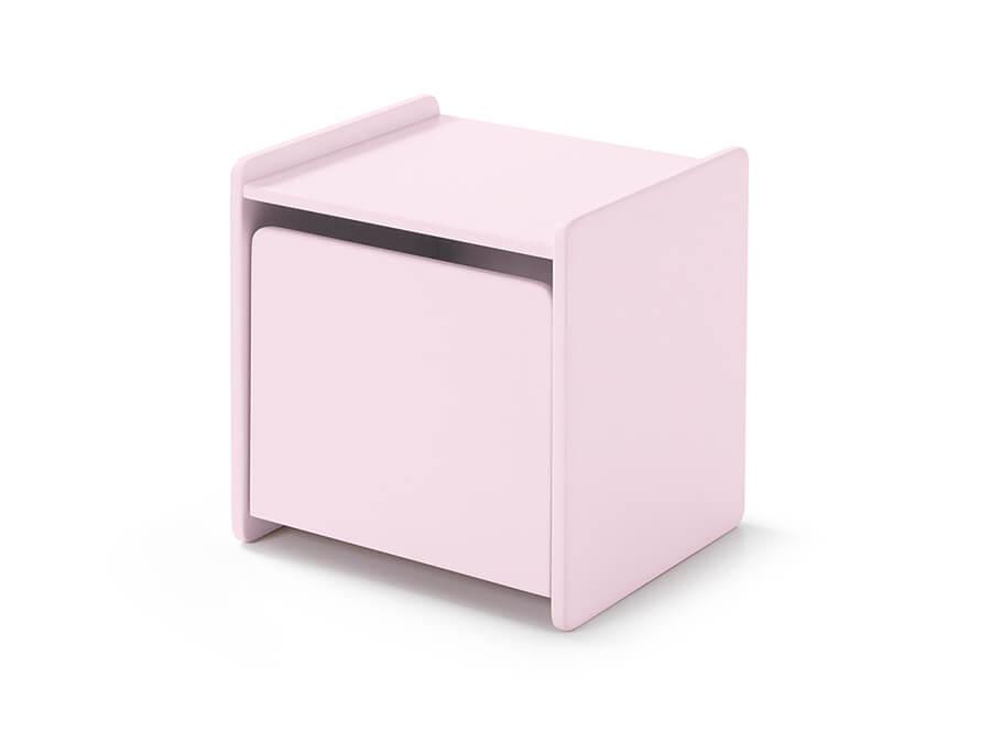 KINA1213 Vipack kiddy nachtkastje roze