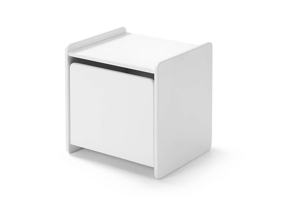 KINA1214 Vipack kiddy nachtkastje wit