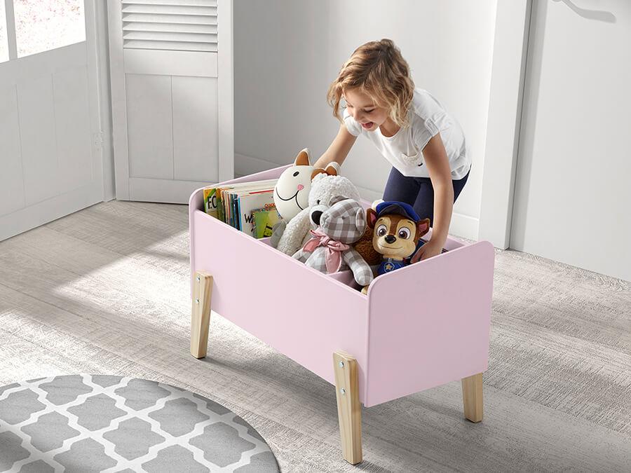 KITB1013 Vipack Kiddy speelkoffer roze1