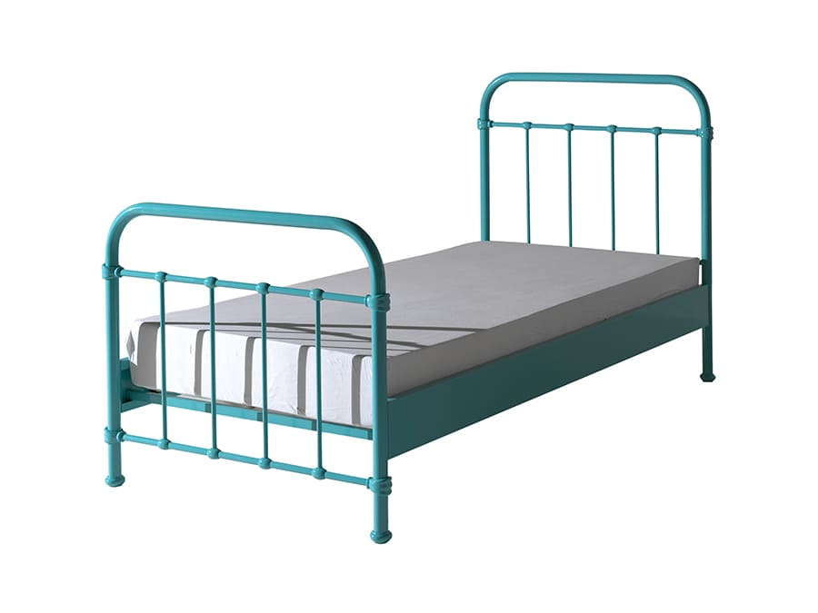 NYBE9094 Vipack New York metalen bed mint