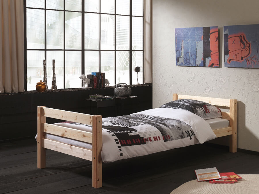 PIBEHE10 Vipack Pino Bed grenen1