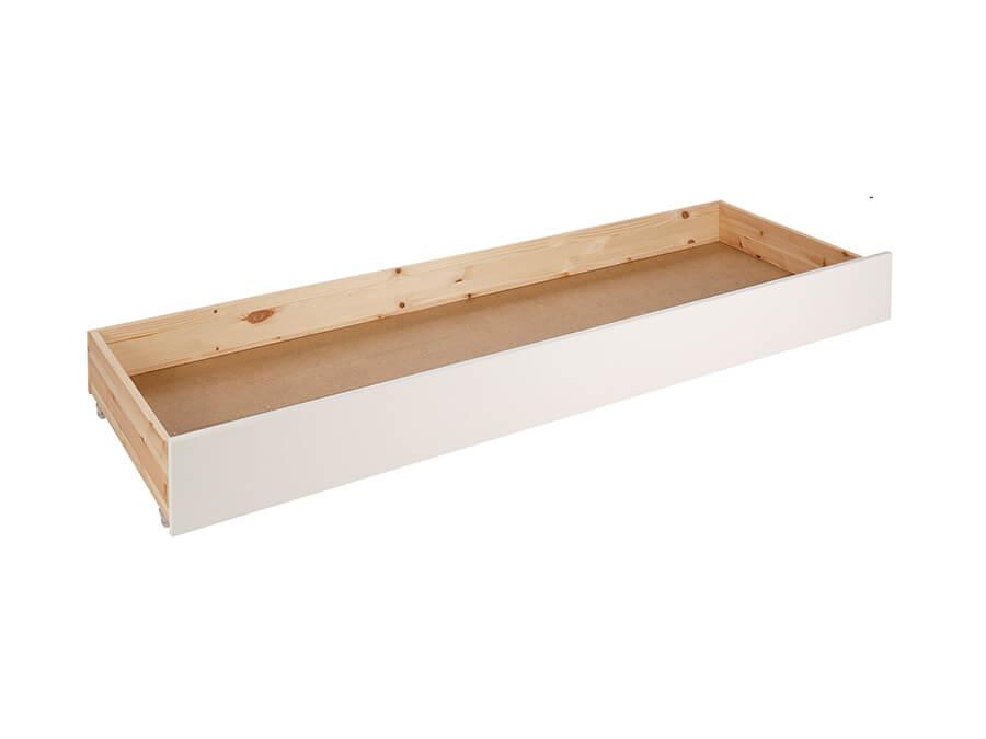 PIRB9114 Vipack Pino onderschuifbed voor bedbank wit