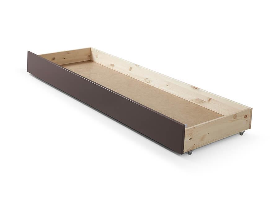 PIRB9115 Vipack Pino onderschuifbed voor bedbank taupe