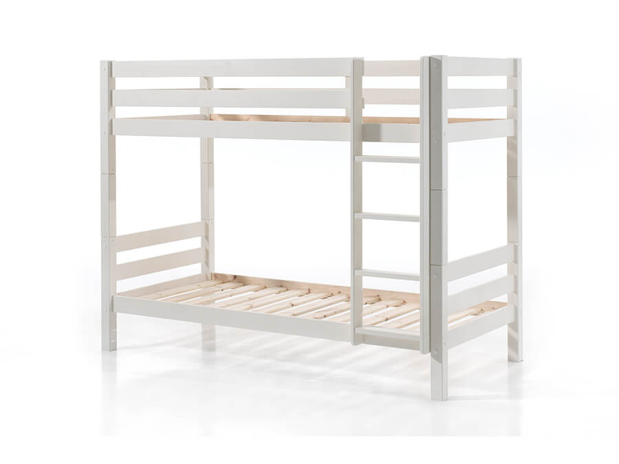 PISB1614 Vipack Pino stapelbed 160cm wit