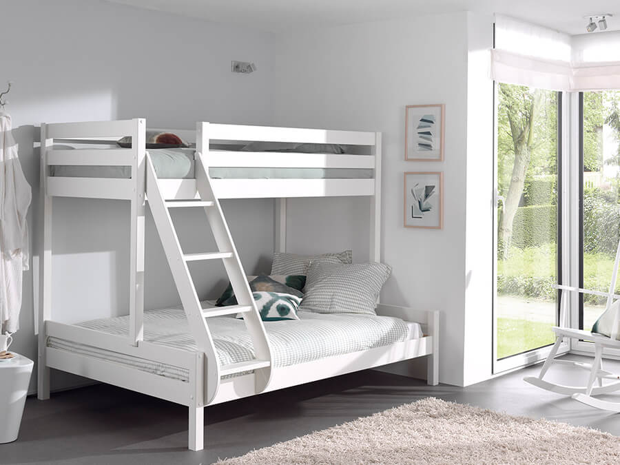 PISBMA14 Vipack Pino familie stapelbed wit1
