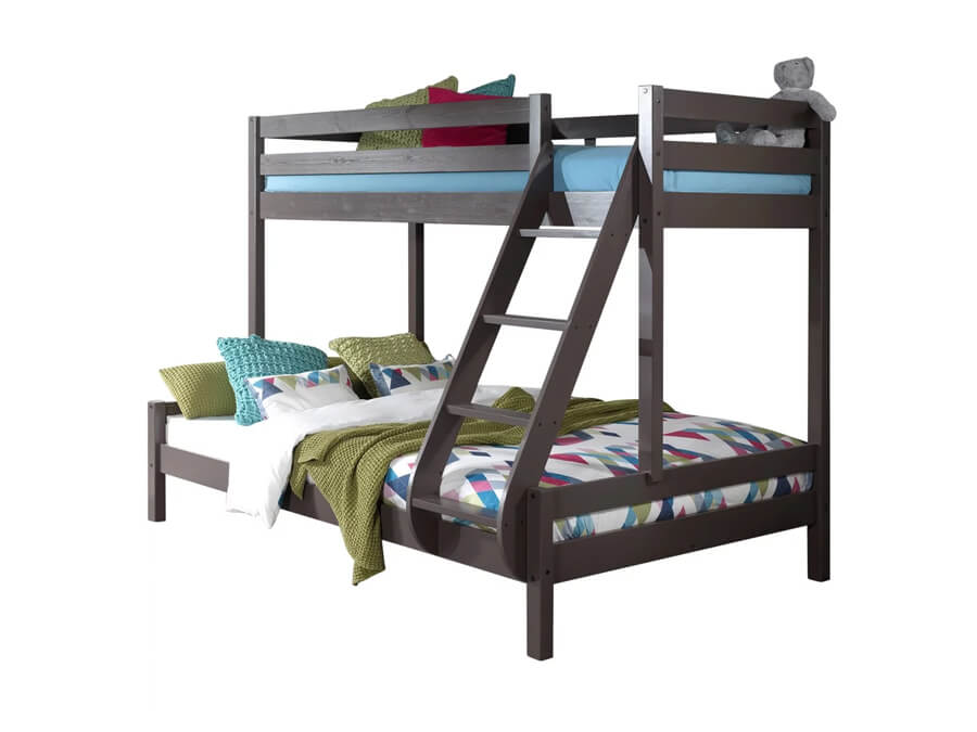 PISBMA15 Vipack Pino familie stapelbed taupe
