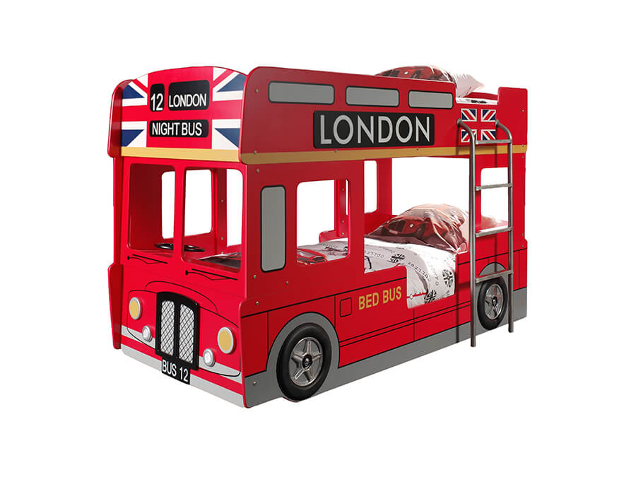 SCBBLB Vipack londenbus stapelbed
