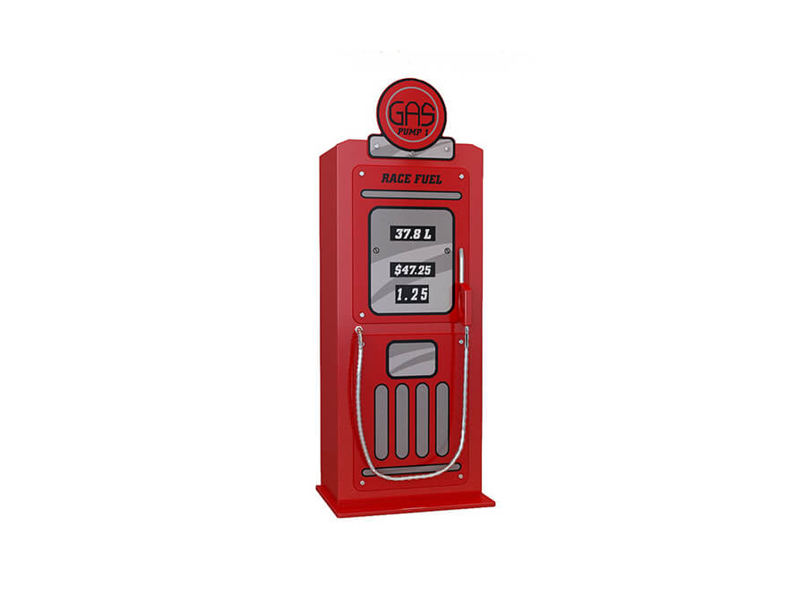 SCGTCR Vipack benzinepomp kledingkast