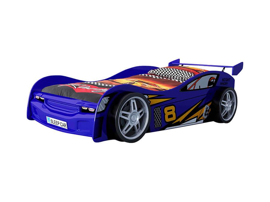 SCNR200B Vipack night racer autobed blauw