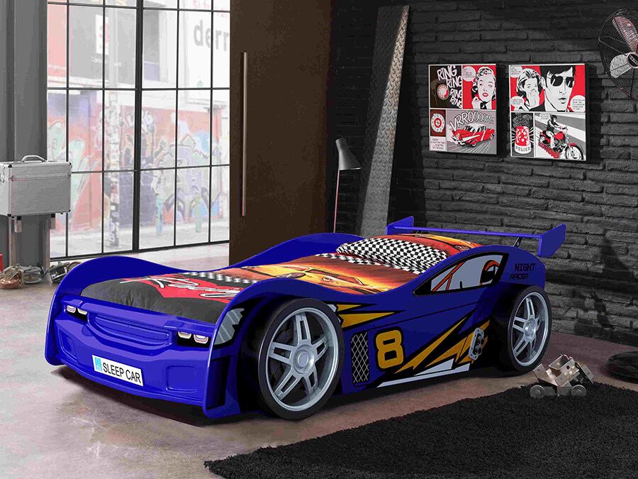 SCNR200B Vipack night racer autobed blauw2