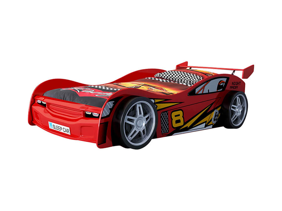 SCNR200R Vipack night racer autobed rood