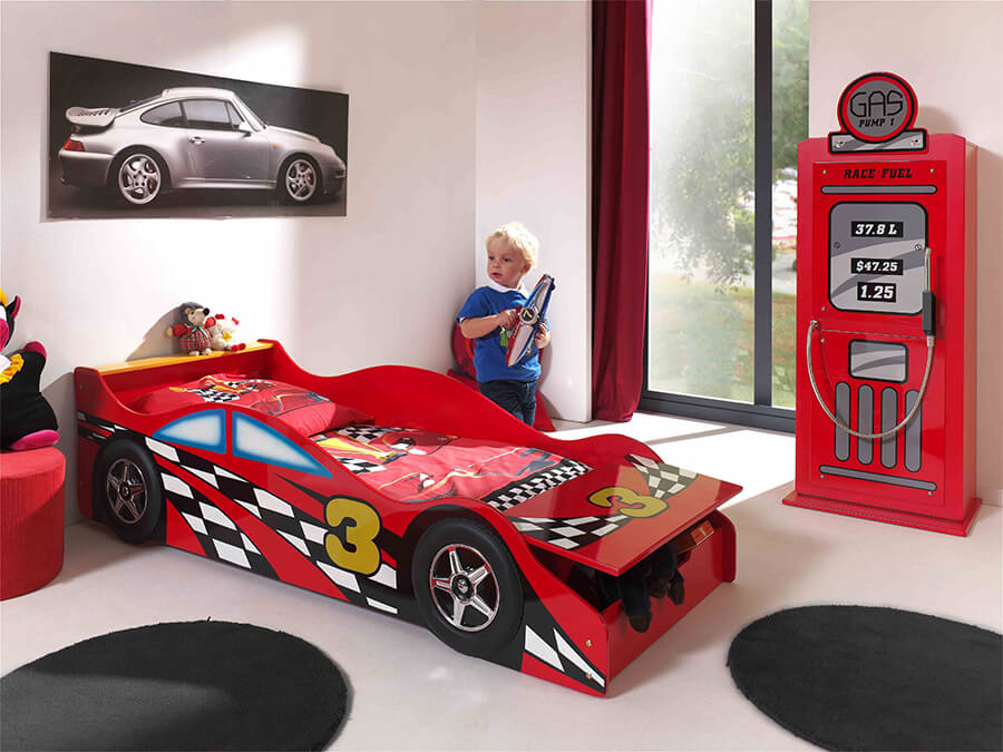 SCTDRC Vipack Toddlet raceautobed open