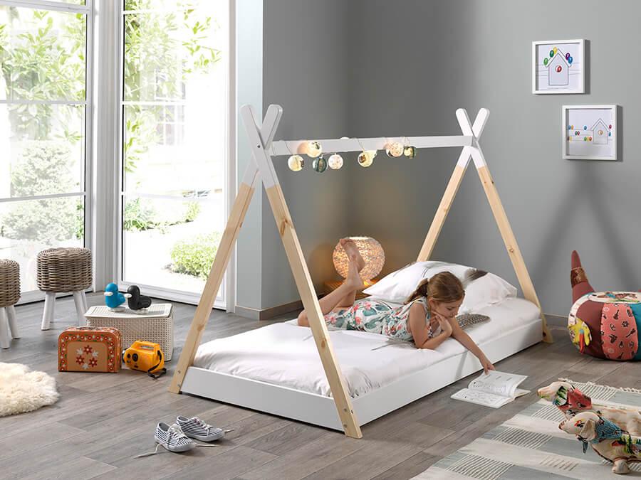 TIBE7014 Vipack Tipi bed 70x140 1