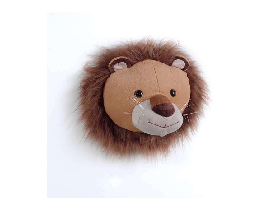 TX11011 dierenkop leeuw