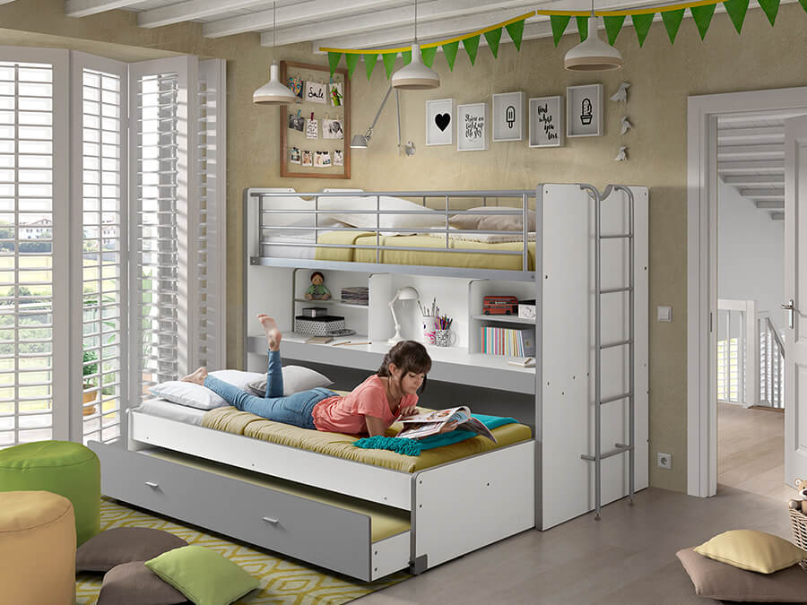 Vipack Bonny 80 Stapelbed bed uit2