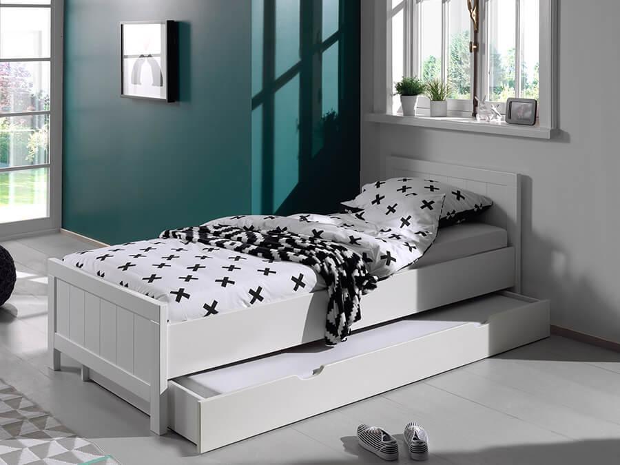 Vipack erik bed onderschuifbed