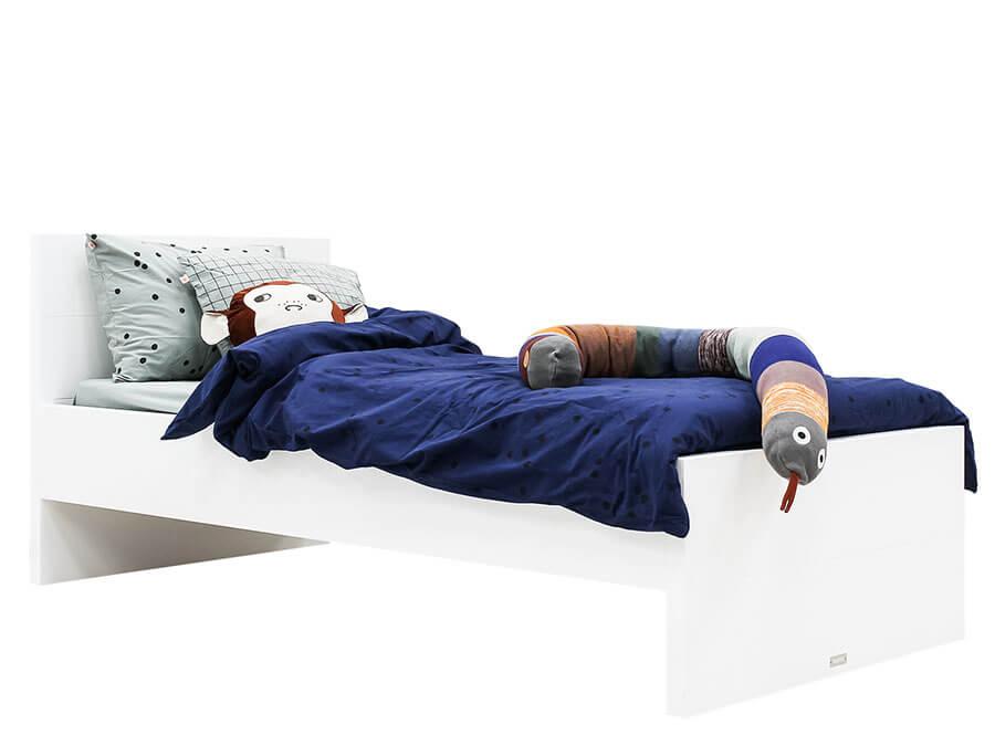 15411511-Bopita-Camille-bed-90x200-wit-hoog-hoofdbord-opgemaakt