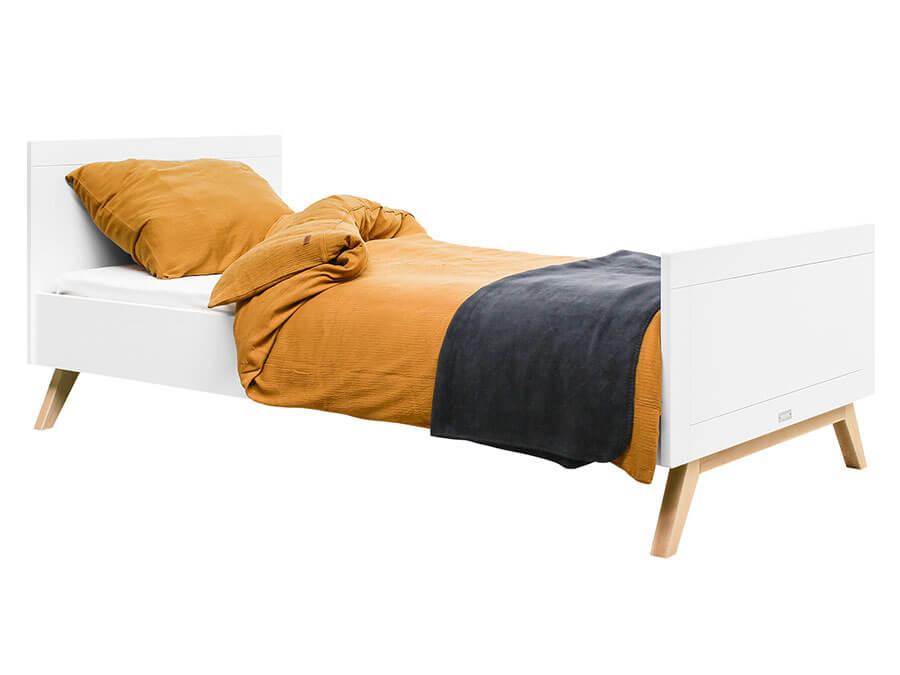 15418803-Bopita-Fenna-bed-90x200-wit-opgemaakt