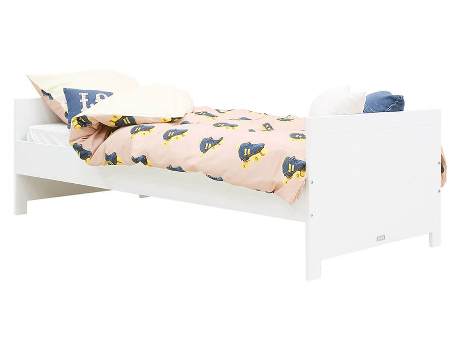 15418911-Bopita-Lucca-bed-90x200-wit-opgemaakt
