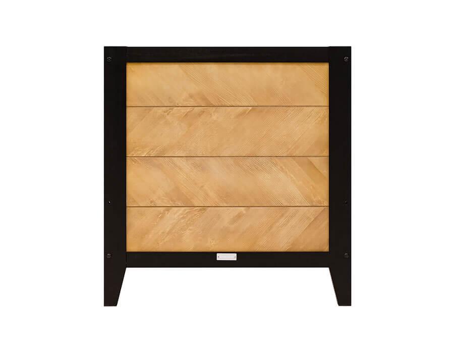 16319150-Bopita-bedbank-Job-70x140-Vintage-Honey-hoofdbord