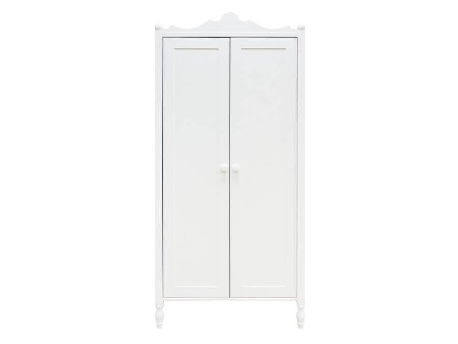 bopita 2 deurskast belle wit voorkant