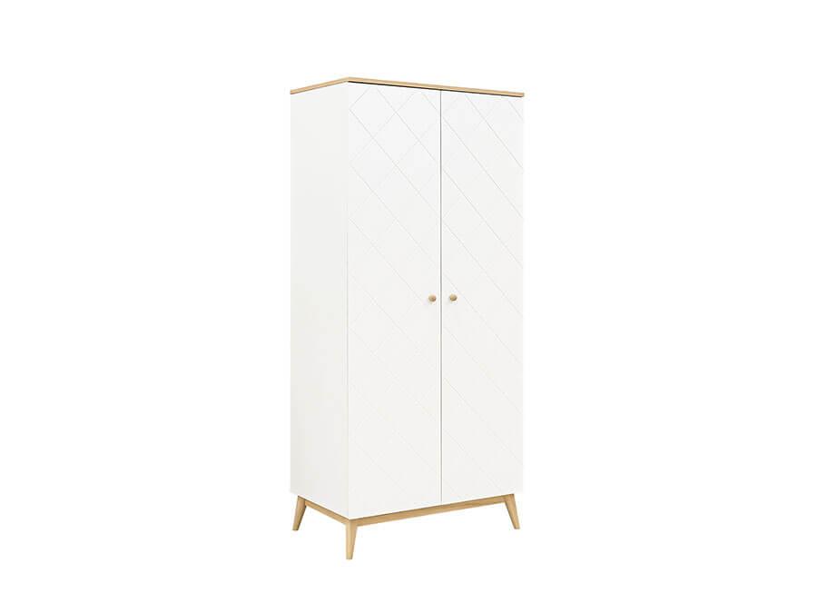 11619351-Bopita-Paris-2-deurs-kledingkast-wit--eiken
