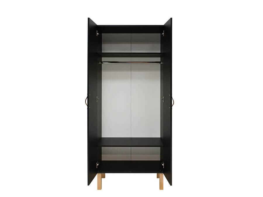11619719-Bopita-Floris-2-deurs-kledingkast-mat-zwart-binnenkant