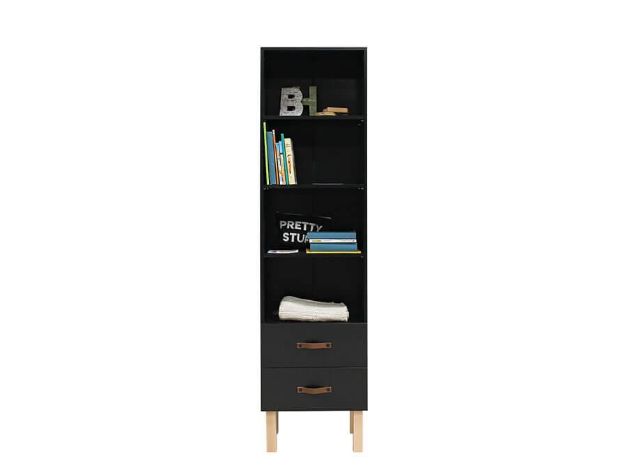 13119719-Bopita-Floris-boekenkast-mat-zwart-spullen